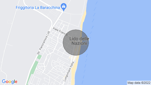 Holiday Apartment With Pool at the Beach Promenade Map