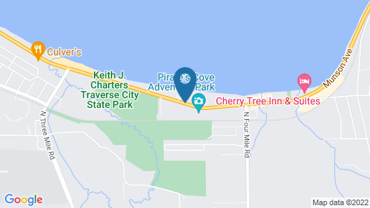 GrandStay Hotel & Suites of Traverse City Map