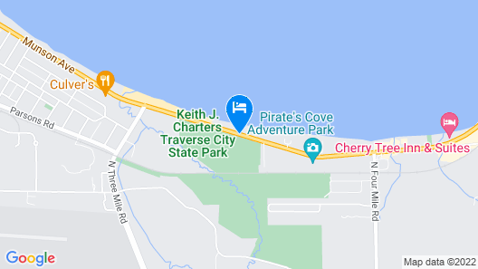 ParkShore Resort Map