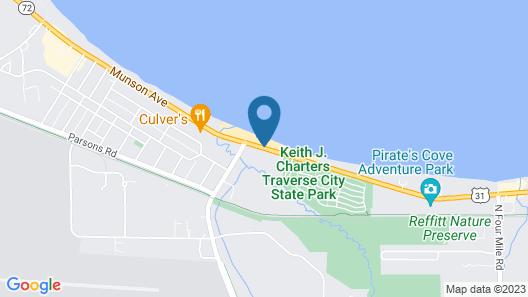 Hampton Inn Traverse City Map