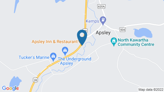 Apsley Inn & Restaurant Map