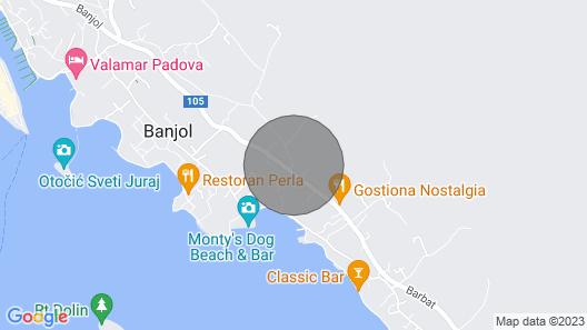 Apartments Marina, , Banjol, Croatia Map