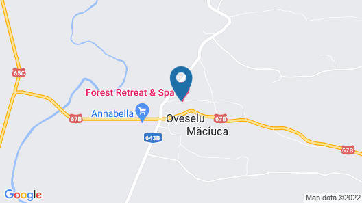 Forest Retreat & Spa Map