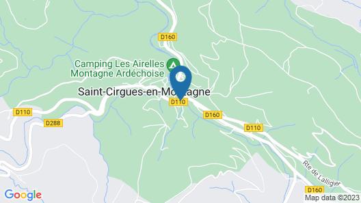 Hôtel Les Cévennes Map