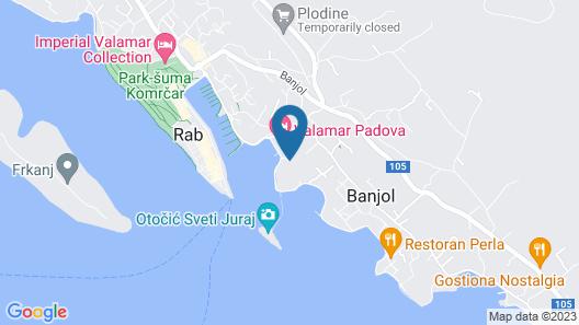 Integral Hotel Arbia - Villa Rio Map
