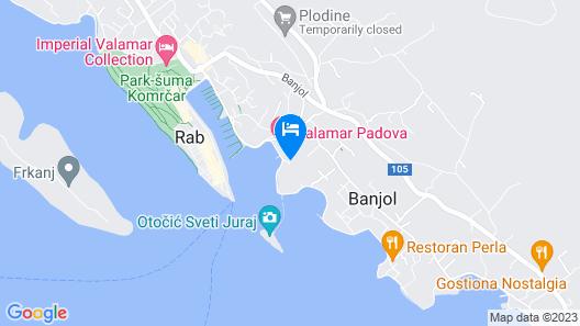 Integrated Hotel Arbia-Margita Map