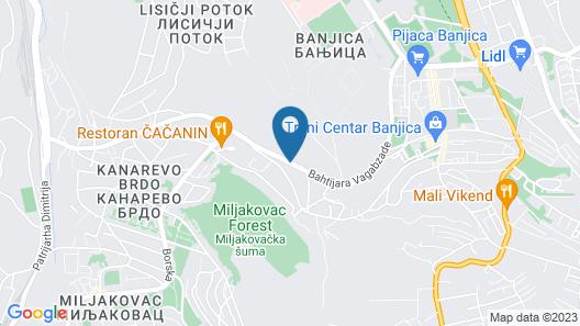 Vila Rococo Map