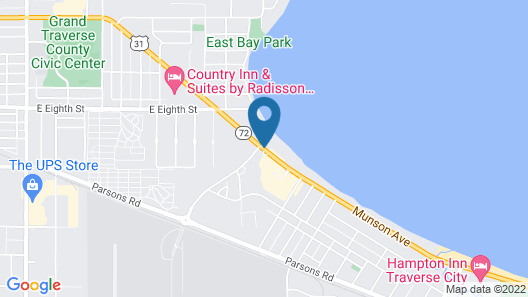 Travelodge by Wyndham Traverse City MI Map