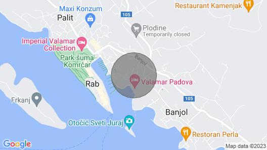 Rooms Marica Map