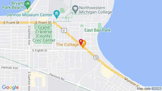 Comfort Inn Traverse City Map