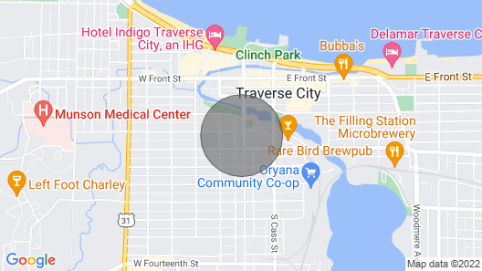 Historic Downtown Traverse City Apartment Map