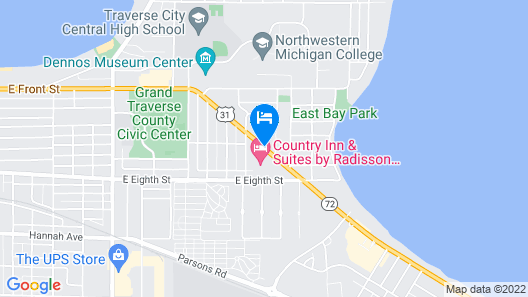 Country Inn & Suites by Radisson, Traverse City, MI Map