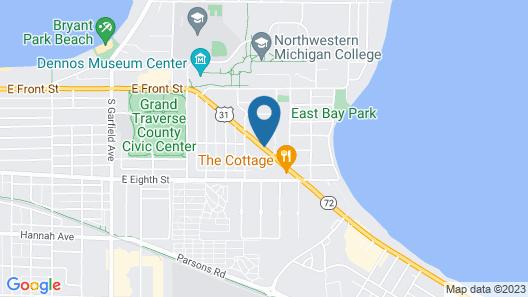 Howard Johnson by Wyndham Traverse City Map