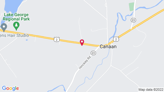 Canaan Motel Map