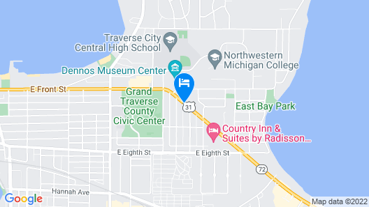 Cambria Hotel Traverse City Map
