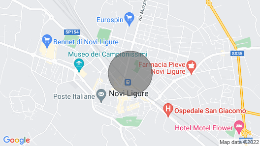 House Near the Novi Ligure Train Station Map