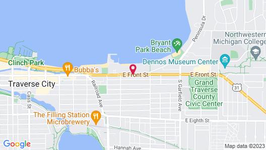 Bayshore Resort Map