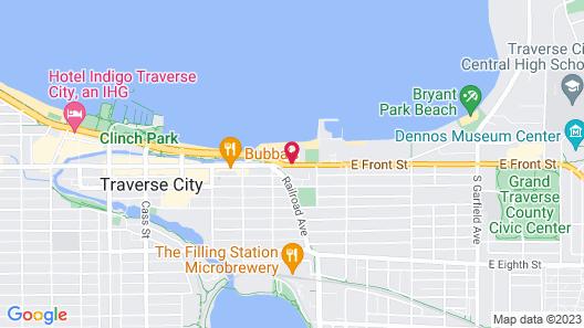 West Bay Beach-A Delamar Resort Map
