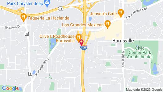LivINN Hotel Minneapolis South / Burnsville Map