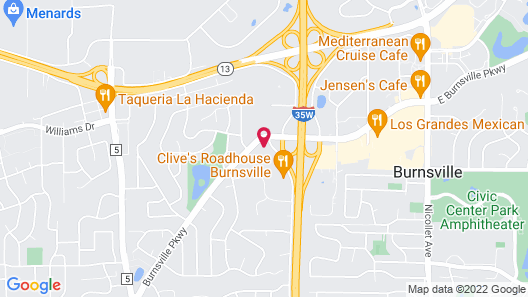 Burnsville Inn & Suites Map