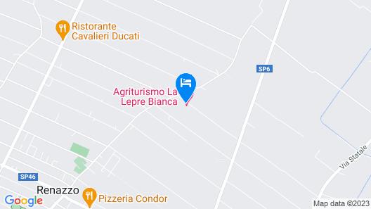 La Lepre Bianca Map