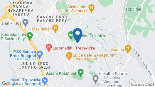 Best Western Premier Natalija Residence Map