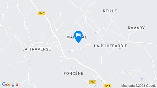Château de Maraval Map