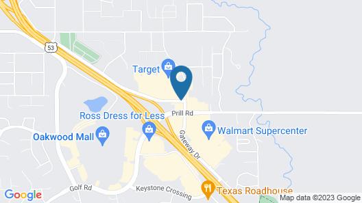Best Western Eau Claire South Map