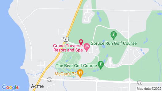 Grand Traverse Resort And Spa Map
