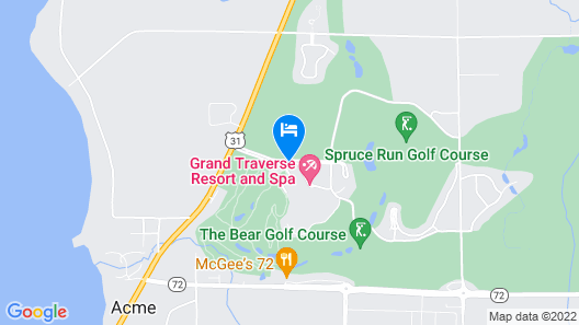 Grand Traverse Resort And Spa Map