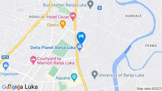 Polar Apartments Map