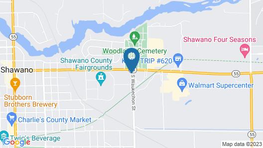 AmeriVu Inn & Suites Map