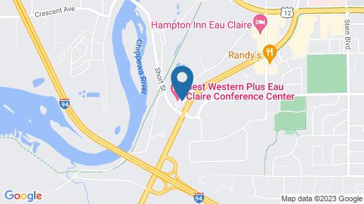 Best Western Plus Eau Claire Conference Center Map