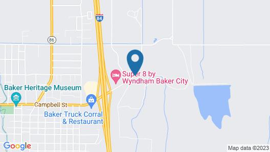 Motel 6 Baker City, OR Map
