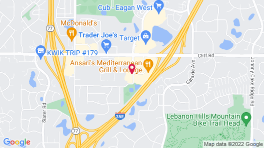 Staybridge Suites Eagan Airport South - Mall Area, an IHG Hotel Map