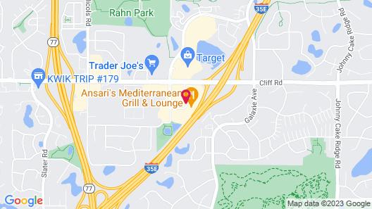Hilton Garden Inn Minneapolis Eagan Map