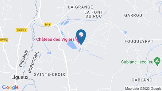 Château des Vigiers Map