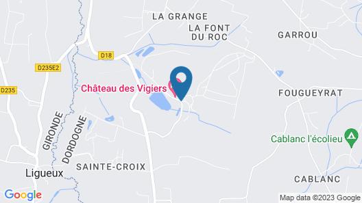 Relais des Vigiers Map