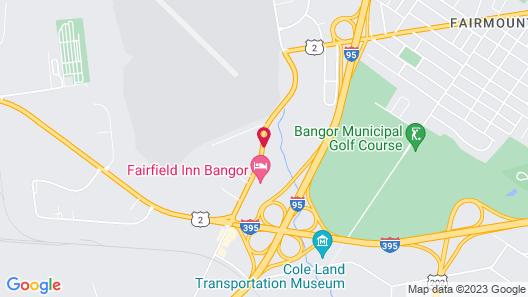 Ramada by Wyndham Bangor Map