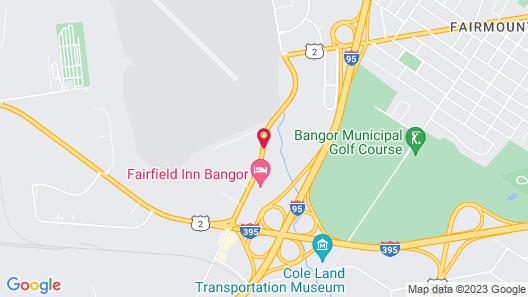 Howard Johnson by Wyndham Bangor Map