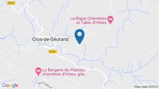 Chambres d'hôtes La Bigue Map