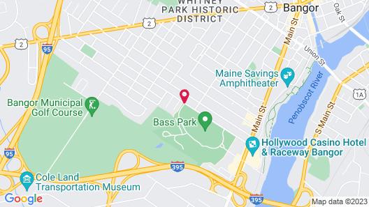 Residence Inn by Marriott Bangor Map