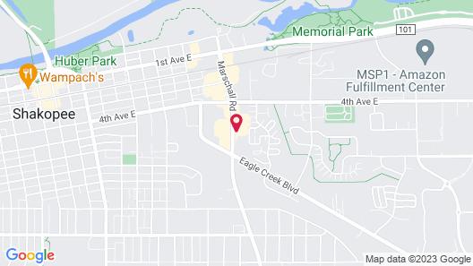 Shakopee Inn Map