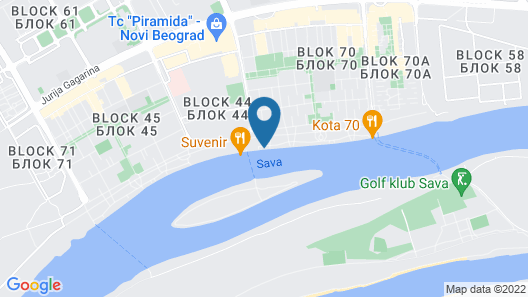 Urban Palace Map
