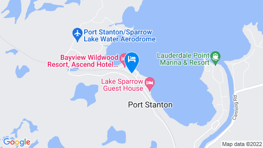 Bayview Wildwood Resort, Ascend Hotel Collection Map