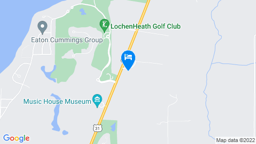 Country Hermitage Bed and Breakfast Map