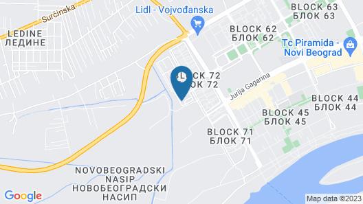 Novel Inn Map