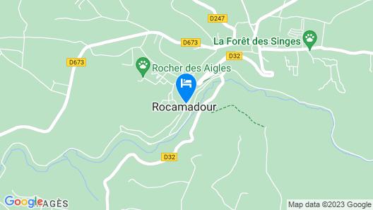 Logis Hôtel le Terminus des Pelerins Map