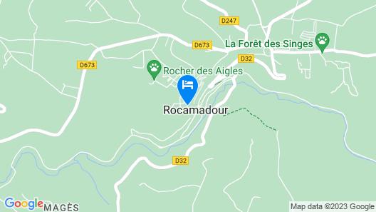 Relais Amadourien Map