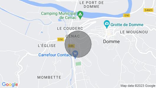 Gîte en Périgord Map